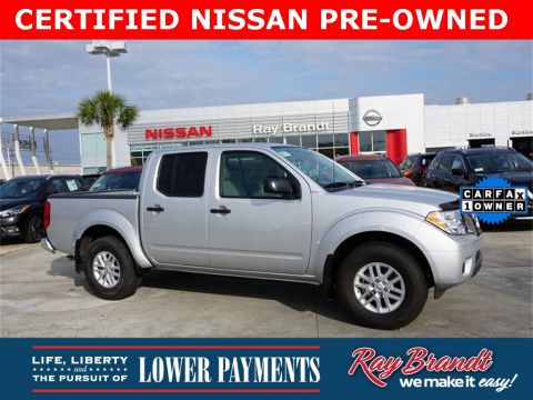 Certified Pre-Owned 2019 Nissan Frontier SV RWD 4D Crew Cab