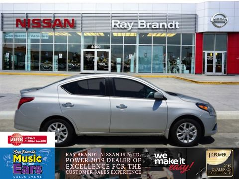 Certified Pre-Owned 2019 Nissan Versa 1.6 SV