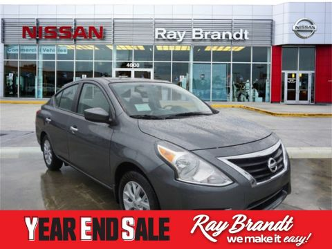 New 2019 Nissan Versa 1.6 SV FWD 4D Sedan