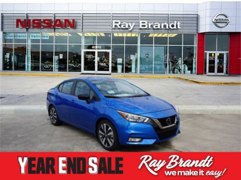 New 2020 Nissan Versa 1.6 SR FWD 4D Sedan