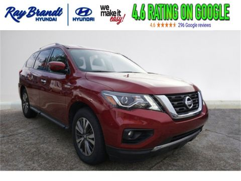 Pre-Owned 2018 Nissan Pathfinder SV 4D Sport Utility in