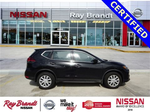 Certified Pre-Owned 2018 Nissan Rogue S